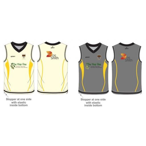 Burscough CC Reversible Sweater - Sleeveless