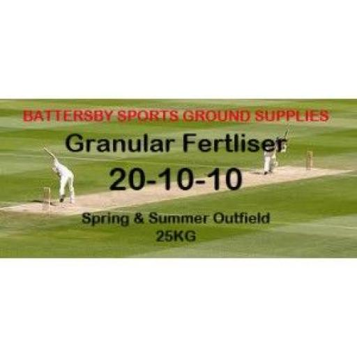 SPRING & SUMMER OUTFIELD: 20-10-10 25KG