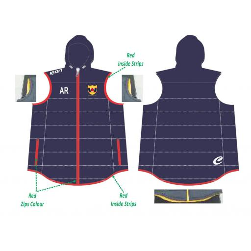 Maghull CC Puffy Vest