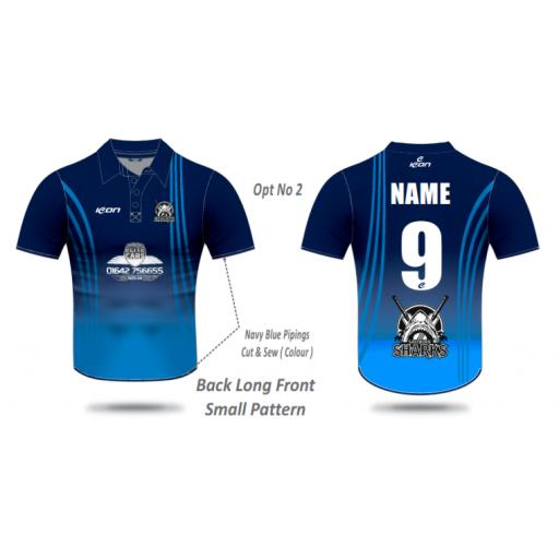 Saltburn CC T20 Shirt - Short Sleeve