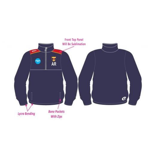Maghull CC 1/4 Zip Tracksuit Training Jacket