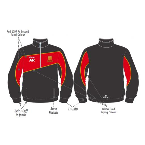 Bradford & Bingley CC Training Jacket - 1/4 Zip