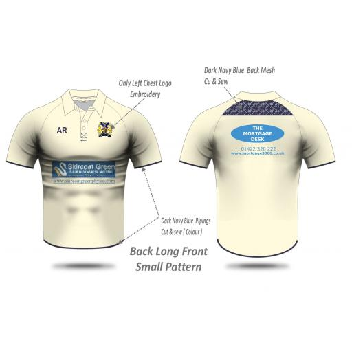 Copley CC Short Sleeve Playing Shirt