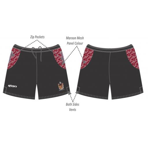 Atherton CC Training Shorts