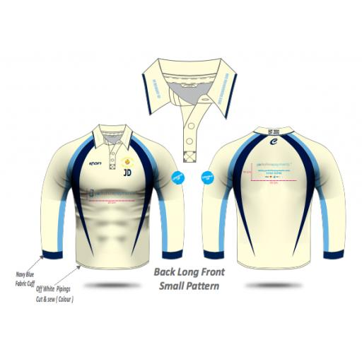 Queensbury CC Playing Shirt - Long Sleeve