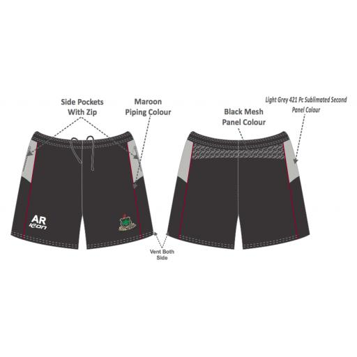 Werneth CC Training Shorts