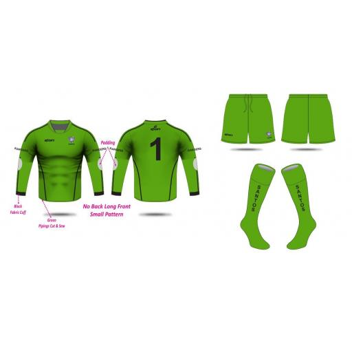 Santos AFC Under 14's Goalkeeper Kit