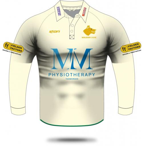 Walsden CC Playing Shirt - Long Sleeve