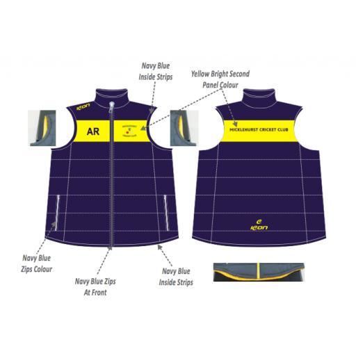 Micklehurst CC Puffer Vest