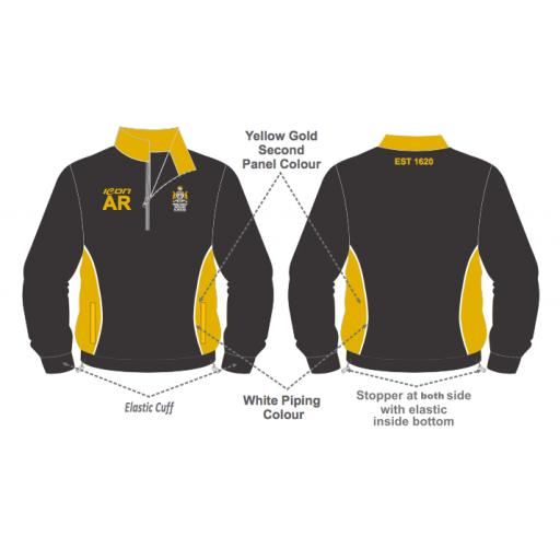 Merchant Taylors Training Jacket - 1/4 Zip