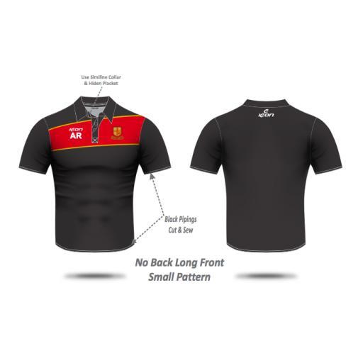 Bradford & Bingley CC Pique Polo Shirt