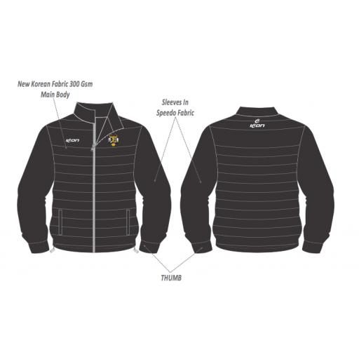 Five Star Sports Training Puffer Jacket