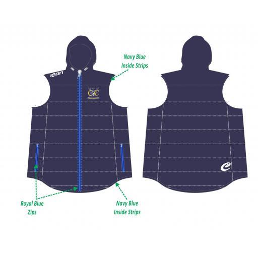 Woodley CC Puffy Vest