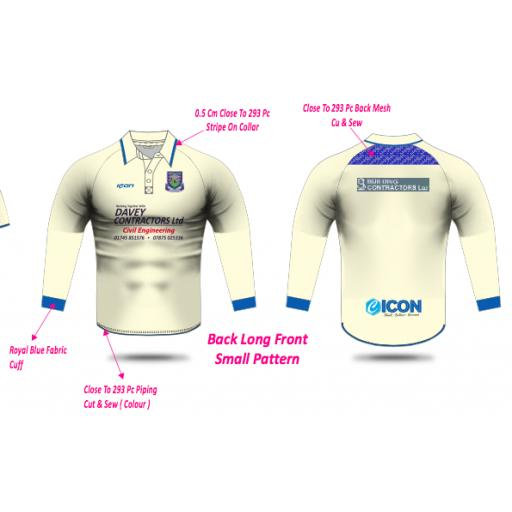 Prestatyn CC Playing Shirt - Long Sleeve