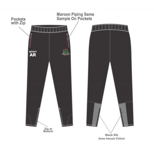 Werneth CC Skinny Fit Track Pants