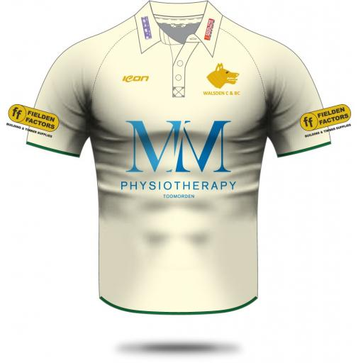 Walsden CC Playing Shirt - Short Sleeve