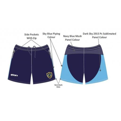 Greenfield CC Training Shorts