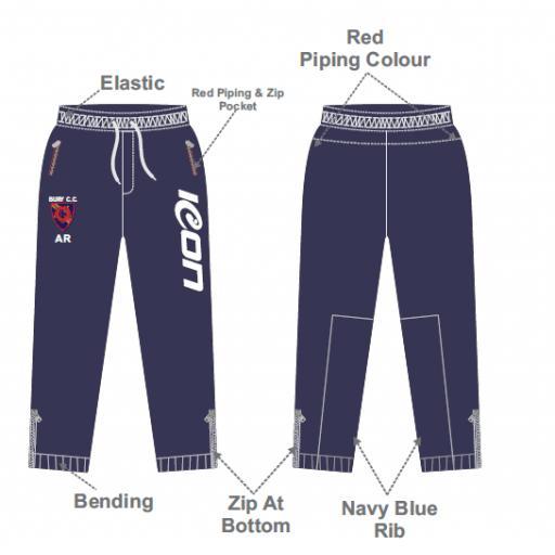 Bury CC Slim Fit Track Pants