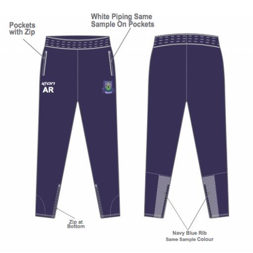 Prestatyn CC Skinny Fit Track Pants