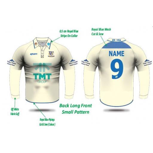 WOODLEY CC Playing Shirt