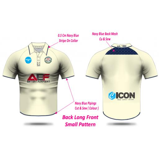 Swinton Moorside CC Senior Playing Shirt - Short Sleeve