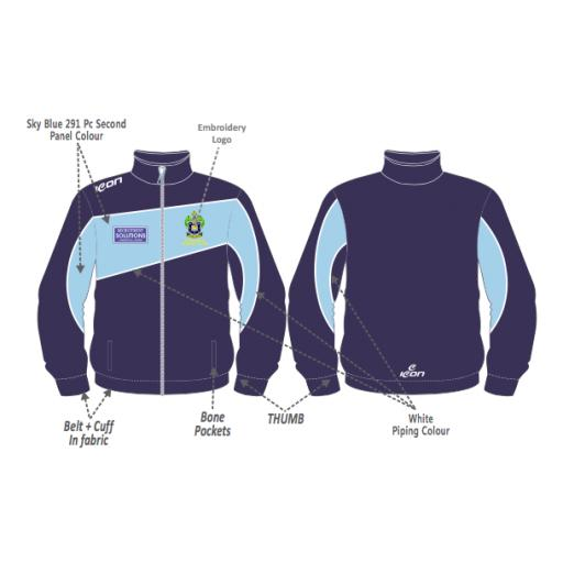 Rochdale CC Training Jacket - Full Zip