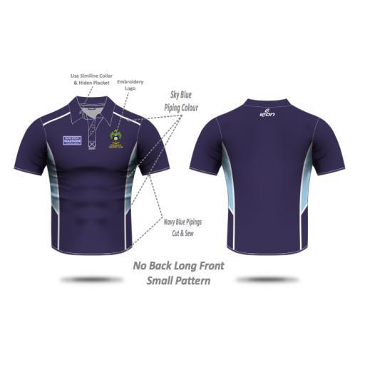 Rochdale CC Pique Polo Shirt
