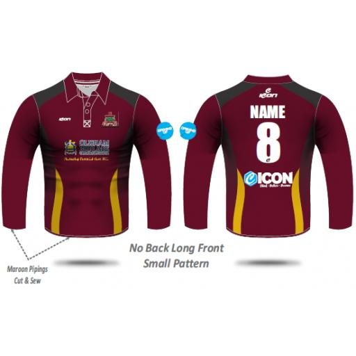 Werneth CC T20 Shirt - Long Sleeve