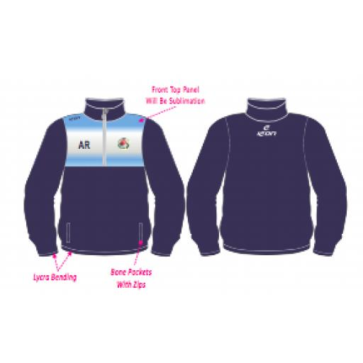 Swinton Moorside CC Training Jacket - 1/4 Zip
