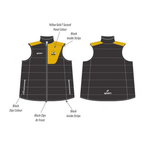 Five Star Sports Puffer Vest
