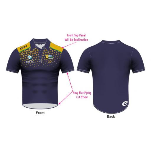 Knypersley CC Polo T20 Shirt