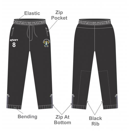 Rochdale St Clements Slim Fit Track Pants