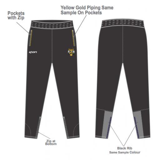 Five Star Sports Skinny Fit Track Pants