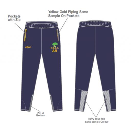 Colwyn Bay CC Skinny Fit Track Pants