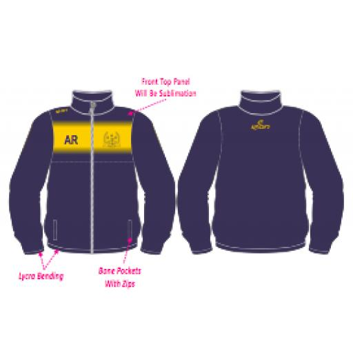 Irby CC Training Jacket - Full Zip