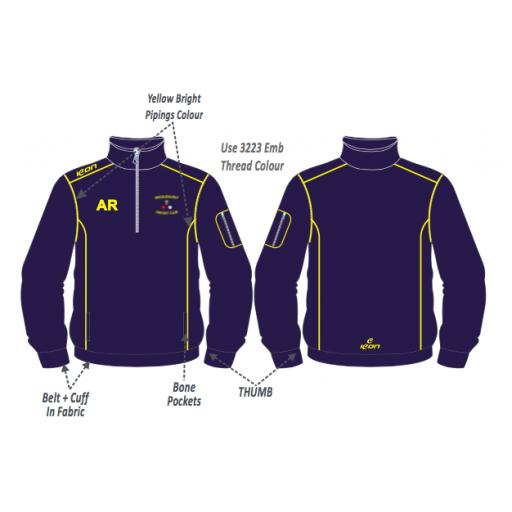 Micklehurst CC Training Jacket - 1/4 Zip