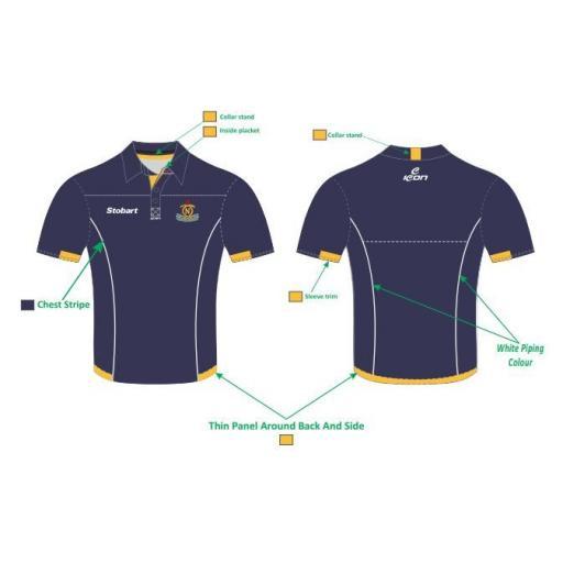 Northern CC Pique Polo Shirt