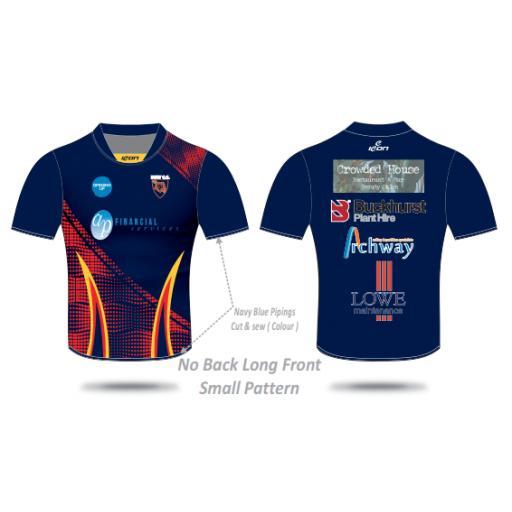Bury CC T20 Shirt - Short Sleeve
