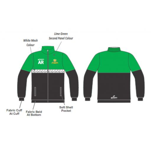 Rainford CC Travel Jacket