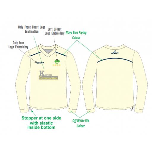 Colwyn Bay CC Sweater - Long Sleeve
