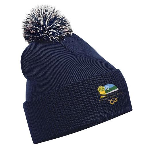 Knypersley CC Beanie Hat
