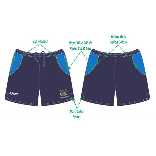 Woodley CC Training Shorts