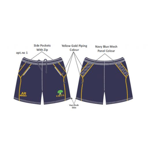 Colwyn Bay CC Training Shorts