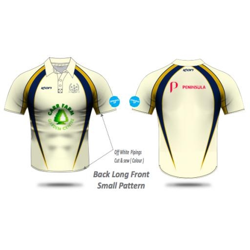 Irby CC Playing Shirt - Short Sleeve