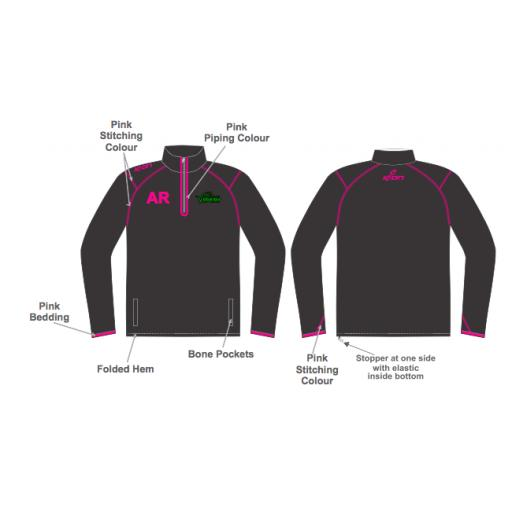 Ribble Valley Vipers Training Jacket - 1/4 Zip