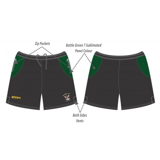 Stalybridge St Pauls CC Training Shorts