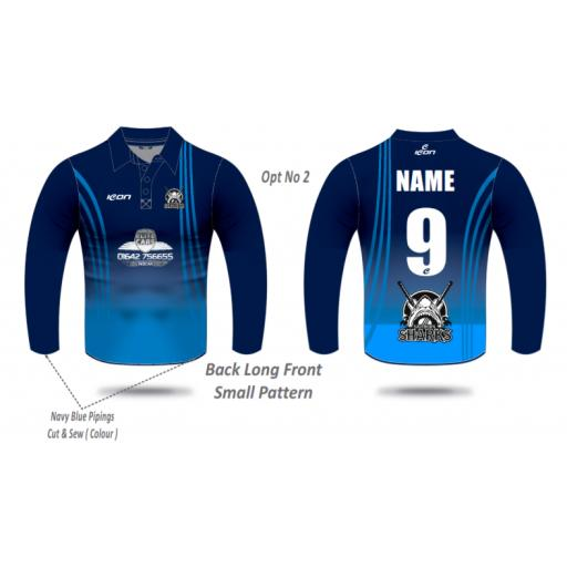 Saltburn CC T20 Shirt - Long Sleeve