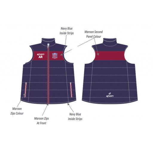 Monton Puffer Vest