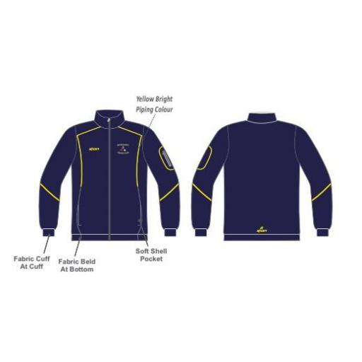 Micklehurst CC Training Jacket - Full Zip