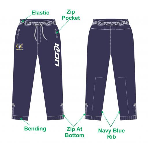Woodley CC Slim Fit Track Pants